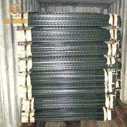المنتجات الأكثر مبيعاً ISO & CE Steel Metal T Bar سياج موقعة/[ت] [لفن] موقعة جمليّة
