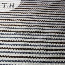 Textil hogar para tapizados con tela de manada de bandas de tejido sofá
