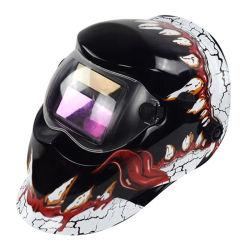 Solar de color verdadero de oscurecimiento automático de casco para soldadura TIG MIG soldadura de arco de casco cubierta