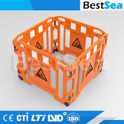 Barriera di plastica del lavoro del cancello di sicurezza stradale del PE leggero