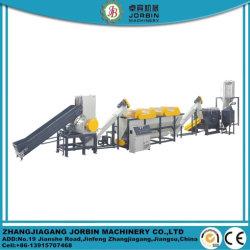 HDPE van het afval LDPE LLDPE pp PE Wasmachine van het Recycling van de Fles van het Huisdier van de Zak van de Film de pp Geweven Plastic