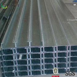 Het kwaliteit Gegalvaniseerde van Purlins Staal van de c- Sectie voor Metaal die Purlins bouwen