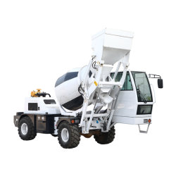 Auto superiore approvato 4cbm del Ce mini che carica il camion della betoniera con Cummins Engine
