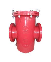 ASME B16.1 200psi Cuerpo de hierro dúctil Rejilla de acero inoxidable cesta filtrante Filtro con homologación UL