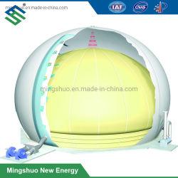 Двойные мембраны купол газа баллон для хранения держатель топливного бака