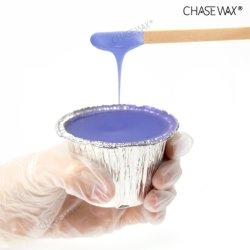 Leichtes enthaarendes Wachs-harter Wachs-Folien-Wachs-Haar-Abbau des Lavendel-100g für Gebiets-Haar-Abbau