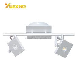 중국 도매 고품질 벽 램프 5W 10W 철 더 많은 컬러 디자인 회전 팬시 벽 램프 현대적인 실버 스팟 조명 라이트