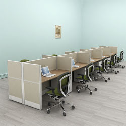 콜 센터 컴퓨터 워크스테이션 테이블 사무실 가구