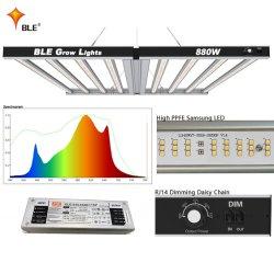 フルスペクトル LED 成長光花植物フィト成長ランプ アクアリウムの温室植物のために育っている