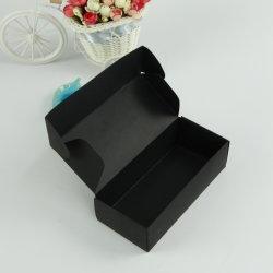 Meias Camisas de Caixa de papel preto Caixa de avião Custom-Made embalagens de alimentos sem caixa de logotipo de Design