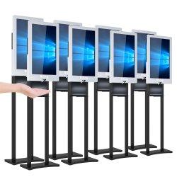 Tela LCD visor digital de publicidade com dispensador purificador com Gel 1000ml