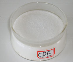 Resina CPE135A/Polietileno clorado/Resina principalmente para tubos de PVC, Material do Elastômero etc