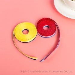 Kundenspezifisches Qualitäts-Polyester-Form-Entwurf gesponnenes Jacquardwebstuhl-Farbband/Brücke/Riemen/gewebtes Material für Kleider/Hosen/Schuhe/Beutel Wbg02