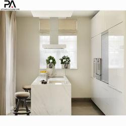 Un espacio pequeño paquete de 2 de laca blanca mueble de cocina Muebles de diseños