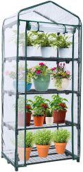 Los gases de efecto invernadero mini portátil al aire libre con cubierta PVC para jardín