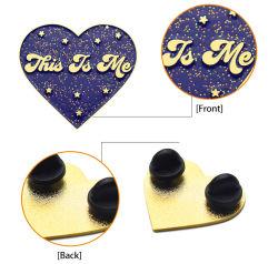 Fabricante de BSCI más de 15 años de experiencia para la personalización de la Insignia de solapa Pin de la flor de metal