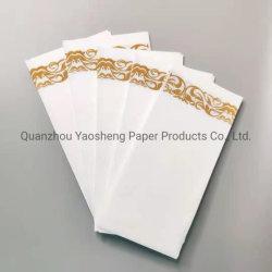 Hochwertige Airlaid White Servietten Papier Taschentücher Druck Papier Restaurant Serviette