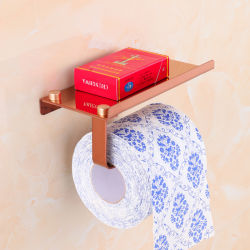 2021 supporto per carta in metallo in acciaio inox di buona qualità Rack per bagno