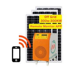 Buona cella solare 5kw 10kw sistema solare per uso domestico Generatore sistema di energia solare