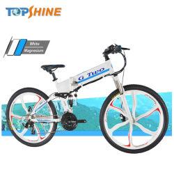 Bici elettrica pieghevole della montagna smontabile della batteria 48V con rilevazione di temperatura della bussola