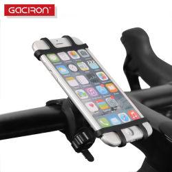 هاتف محمول حامل هاتف بدراجة سيليكون قابل للضبط بزاوية 360 درجة ملحقات الهاتف المحمول للحامل