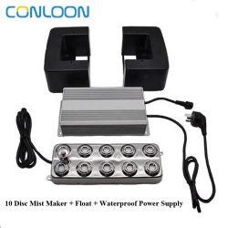 10 Conloon диск электрический ультразвуковые холодный туман Maker 7L или 7кг в час увлажнитель воздуха