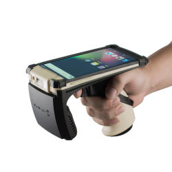 1-7 Meter lange Reichweite Tags Scanner Multi Tags Lesen 2D Barcode Wireless Assets Tracking Handheld UHF RFID Reader