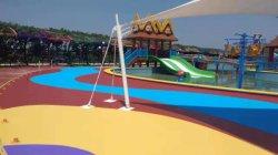 China-heiße Verkaufs-Farben-keramischer Partikel mit verschiedenen Farben für die Straßen-Pflasterung