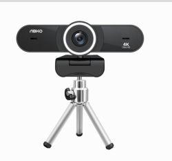 Webcam mit 4K Auflösung USB PC-Webcam mit integrierter Kamera Mikrofon für Skype Live Class Konferenz Video Webcam Desktop