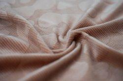 Le spandex a continué de casser cocon de soie de fibres en tissu de soie avec soft et frivole pour couverture ou de vêtement ou canapé ou d'oreiller