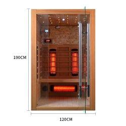 STAZIONE TERMALE dell'interno di vendita superiore della Camera con sauna infrarossa di spettro completo per la persona 2