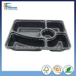 Großhandelswegwerfplastikfreie Mahlzeit-Vorbereitungs-Behälter des mittagessen-Kasten-Nahrungsmittelgrad-pp.