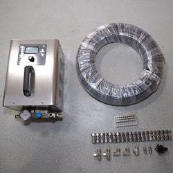 L'embuage du système de désinfection pour tente de désinfection à l'extérieur du pulvérisateur de refroidissement