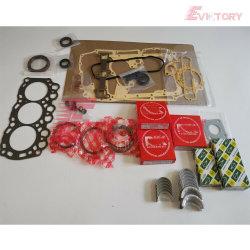 Excavatrice moteur Mitsubishi L3E Kit de joint principal segment de piston de palier de bielle