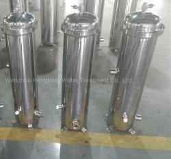 Saco de aço inoxidável de higiene e o alojamento do filtro de cartucho para água Pre-Treatment