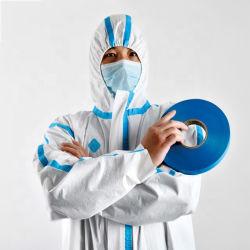 2020 Vente Non-Woven Hot Couture étanche bleu du ruban adhésif d'étanchéité de l'isolement s'adapter à bande