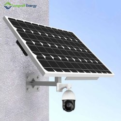 Segurança Sem Fio 4G 1080P Câmara Dome de segurança movidos a energia solar
