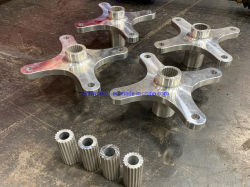 Placage personnalisé de couleur, de robots, machines à 3D de pièces détachées, la précision en aluminium anodisé/Sus/cuivre/pièces d'usinage CNC en plastique, CNC les pièces usinées