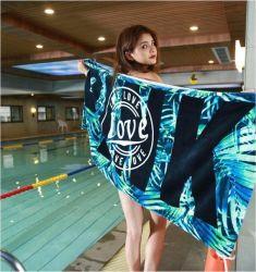 Coton doux rose Serviette de plage Piscine voyage Serviette de bain Bureau Yoga canapé Blanket tapisserie de mur Toalla Playa