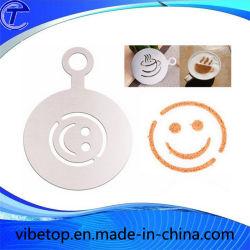 En acier inoxydable de l'outil de décoration d'Art Café Latte (CP-05)