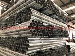 Baja en Carbono ASTM Acero Galvanizado en caliente tubo tubo soldado