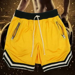 L'été Shorts hommes rayé de la mode pour le patchwork Shorts