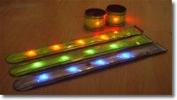 LED reflexivo Slap Wrap 3m fita refletiva para venda por grosso