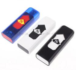 O OEM Imprimir uma prova de vento carga USB isqueiro para Oferta Promocional