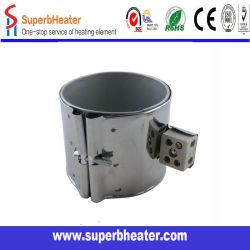100*90mm-220V-850W Calentador de la banda de Mica Stainless-Steel Elemento calefactor para máquina de inyección