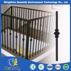 別荘の家のための錬鉄のバルコニーの柵