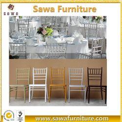 Commerce de gros Fancy utilisé fête de mariage blanc Chiavari chaises pour la vente