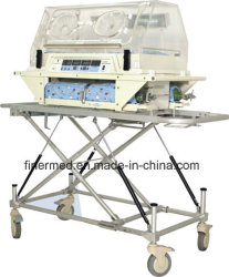 Ambulancia de emergencia carrito de bebé lactante Incubadora de transporte