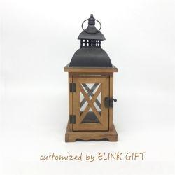 Qualité Premium Style d'horloge en bois massif Bird Cage de voyage Voyage d'oiseaux chambre