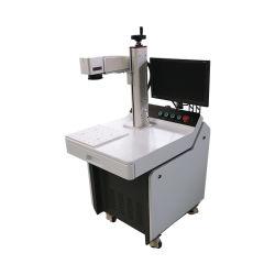 20W 30W 50W 60W Mini Max Raycus pequeña Mopa escritorio 3D de metal color marcadora láser de fibra óptica con Rotary